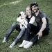Monet con mamma e papà